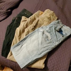 Lot of boys pants
